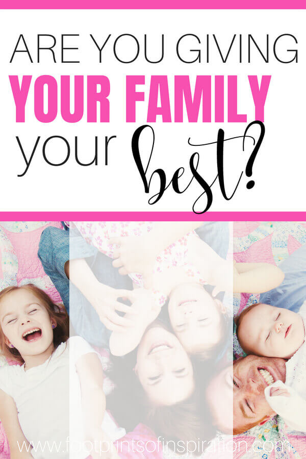 Do you stress the importance of quality family time in your home? With all the obligations that keep us busy, see why it's important to make your family a priority. #children #family #parentingtips #christcenteredliving #christianlife #marriageadvice #happymarriage