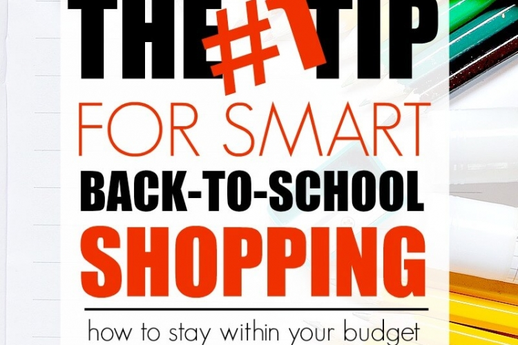 School shopping doesn't have to be difficult or expensive. Check out this tip for smart back-to-school shopping and learn how you can save money doing it.