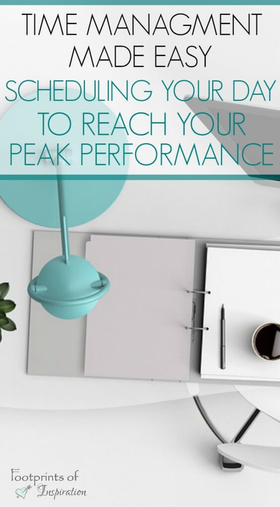 Do you struggle with being productive? Learn these strategies for scheduling your day to reach your peak performance!