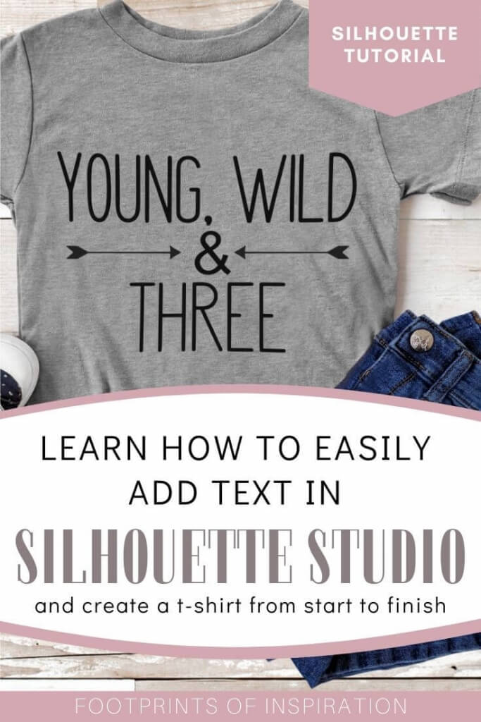 Learn how to create a t-shirt using your Silhouette in this tutorial on How to Add Text in Silhouette Studio