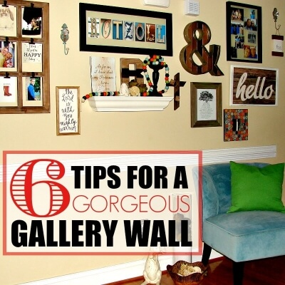 6 TIPS FOR A GORGEOUS GALLERY WALL