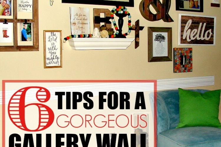 6 tips for a gorgeous gallery wall.