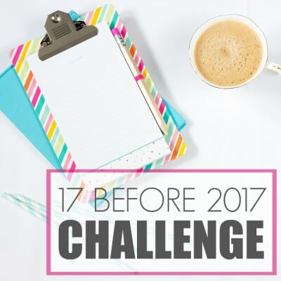 17 BEFORE 2017 CHALLENGE