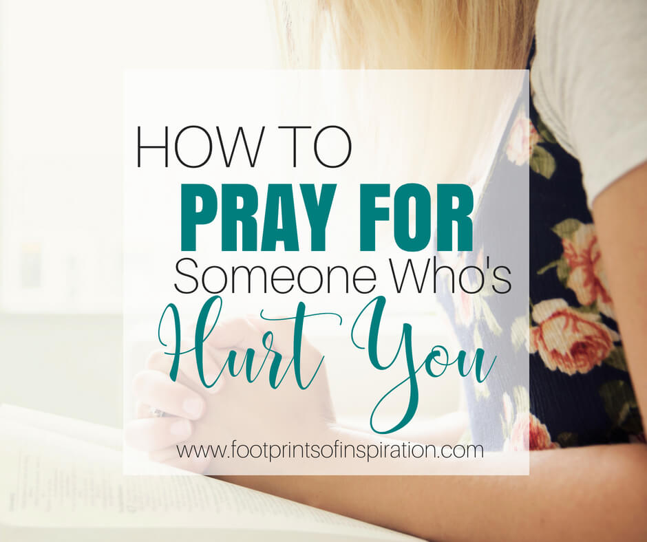 how to pray for someone