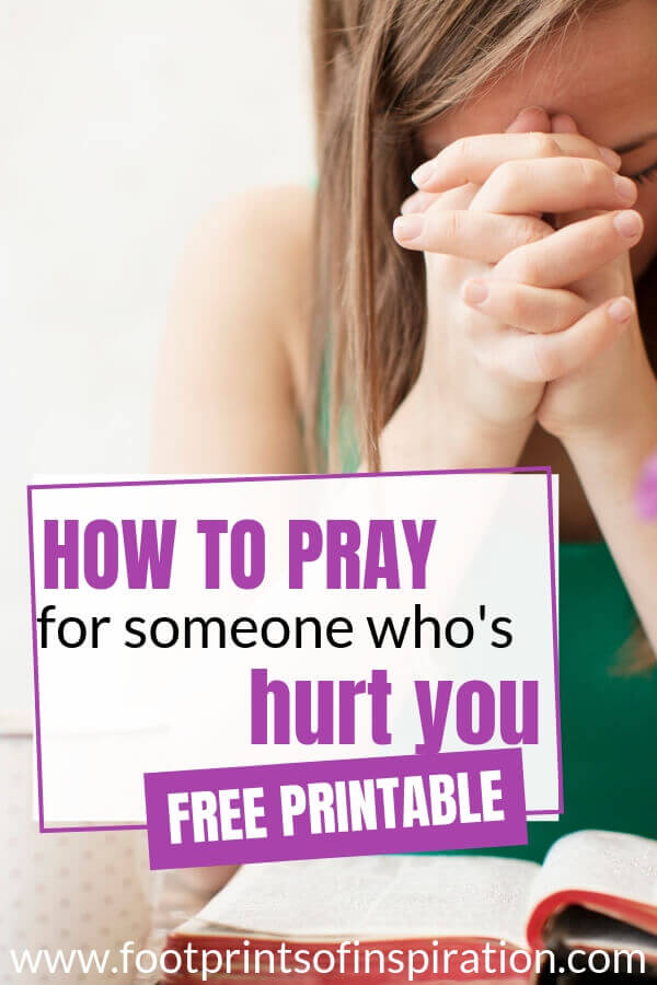 Learn how to pray for someone who's hurt you and let go of the pain of unforgiveness.