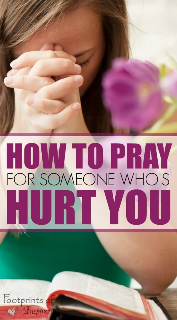 Learning to pray for someone who's hurt you is extremely difficult. Find steps to take in this challenging journey.