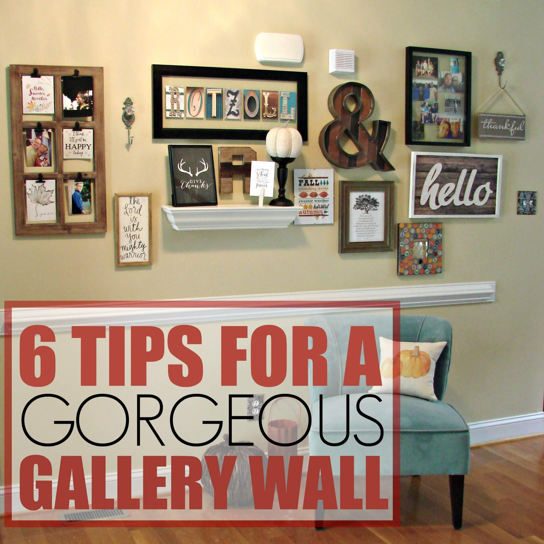 6 Steps to a Gorgeous Gallery Wall