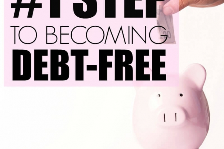 Learn the #1 step to turning your finances around and becoming debt-free