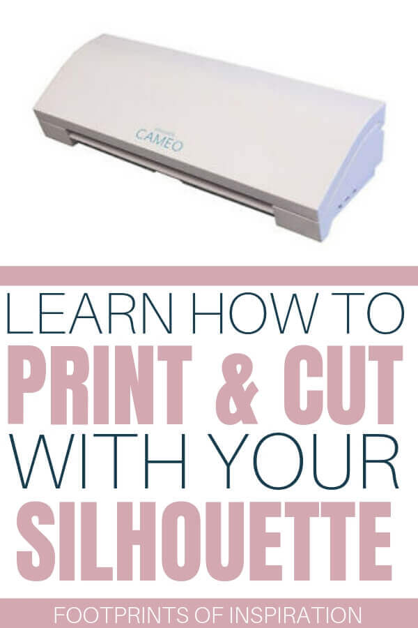 Learn how easy it is to print and cut with your Silhouette cutting machine and use your creativity to make beautiful projects