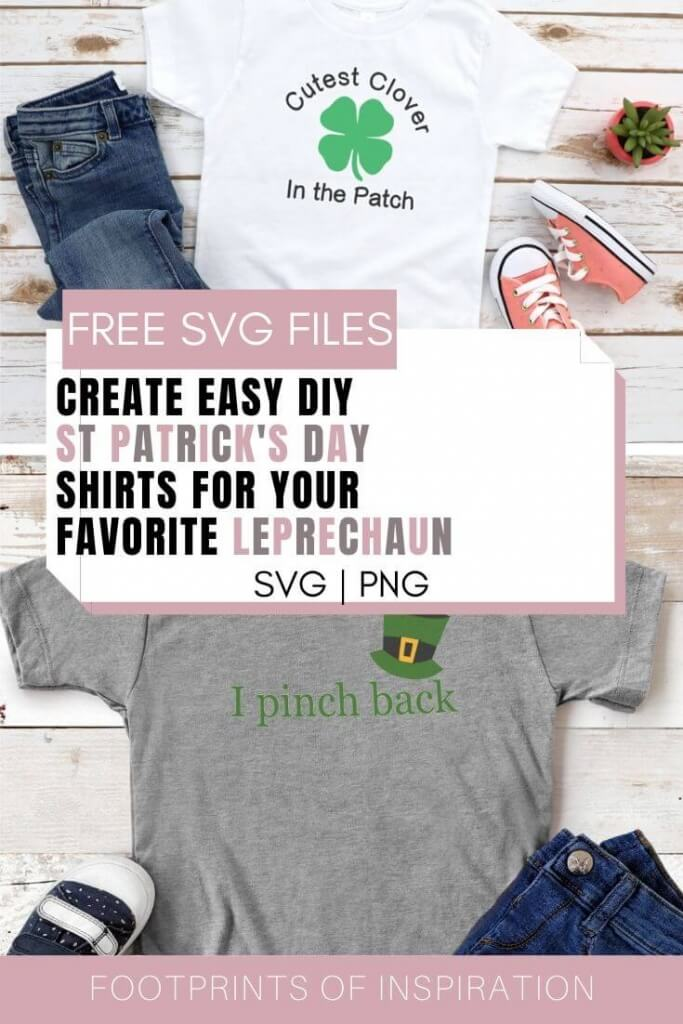 Download our Free St Patrick's Day SVG Cut File and create a fun shirt in less than 30 minutes.