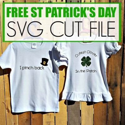 FREE ST. PATRICK'S DAY SVG CUT FILE
