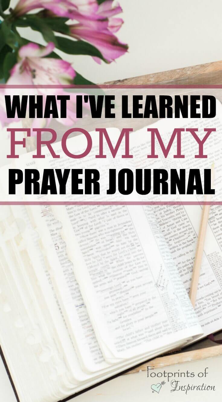 I've been thinking about using a prayer journal for some time now and this gives some great reasons for getting started right away!