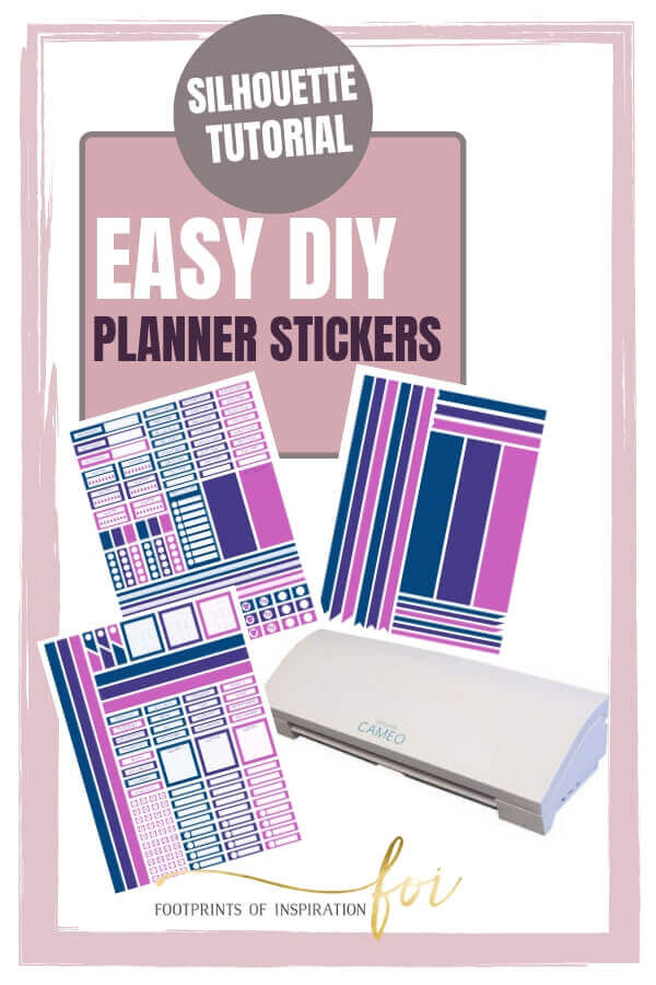 Learn how easy it is to make your own planners stickers using your Silhouette cutting machine.