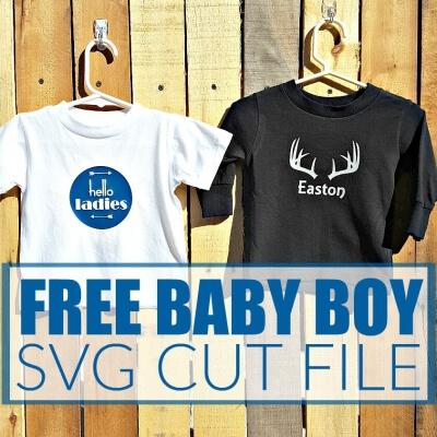 FREE BABY BOY SVG CUT FILES