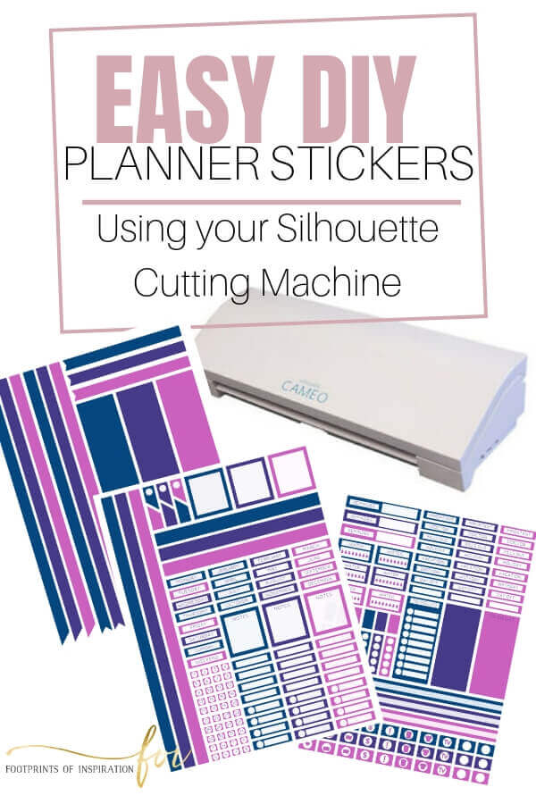 Learn how easy it is to make your own planner stickers using your Silhouette cutting machine.