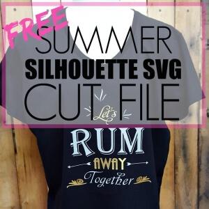 FREE SUMMER SVG CUT FILE