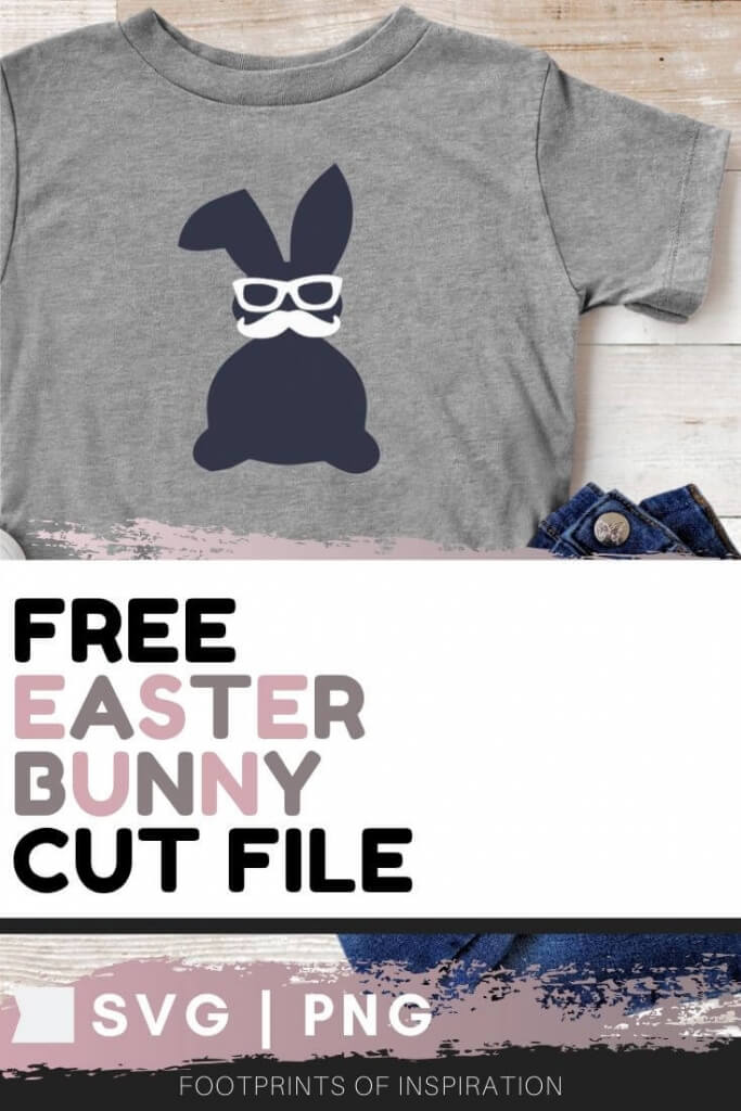 Download this adorable Free Easter SVG Cut File and create a shirt in under 30 minutes