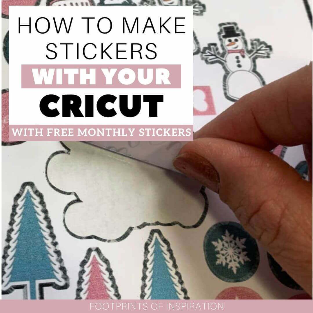 How to Make Stickers with Your Cricut Cutting Machine