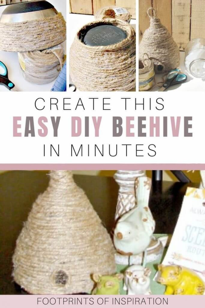 Create this DIY beehive in no time with this step-by-step tutorial