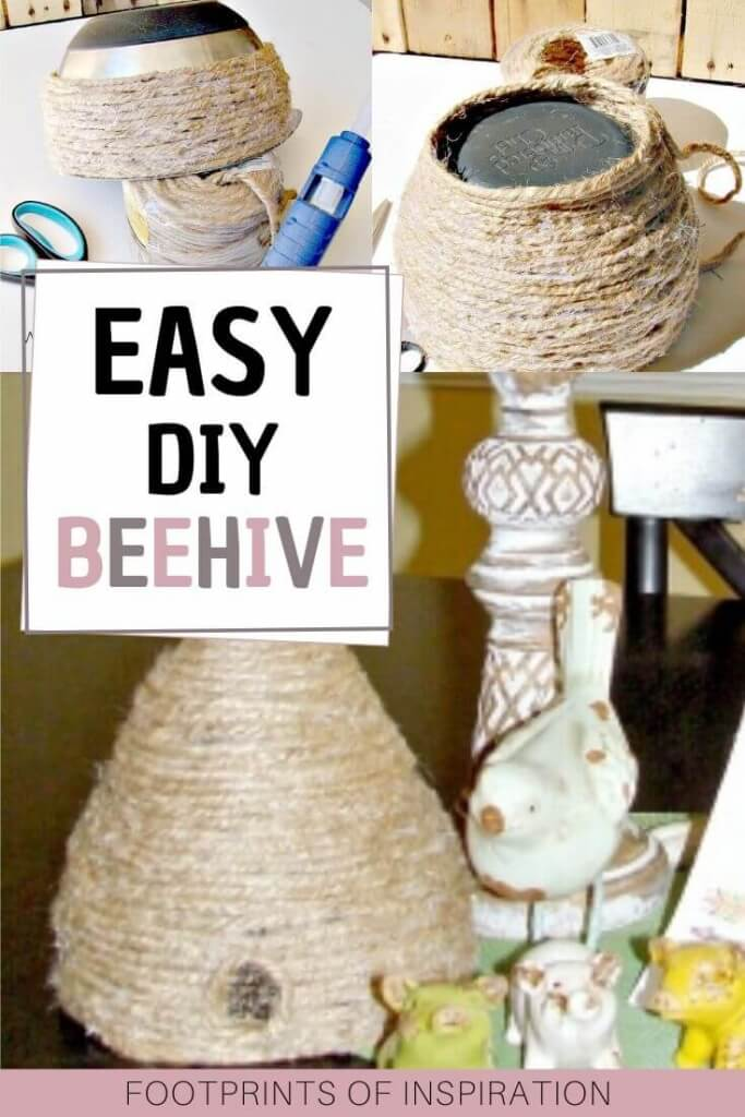 Create this DIY Beehive using the step by step tutorial