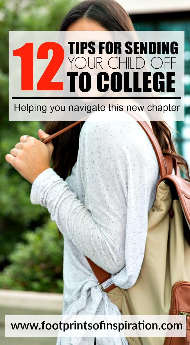 There's so much to do before sending my child off to college. This post has some great tips for navigating the next chapter in your life.