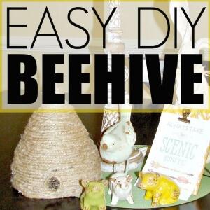 EASY DIY BEEHIVE