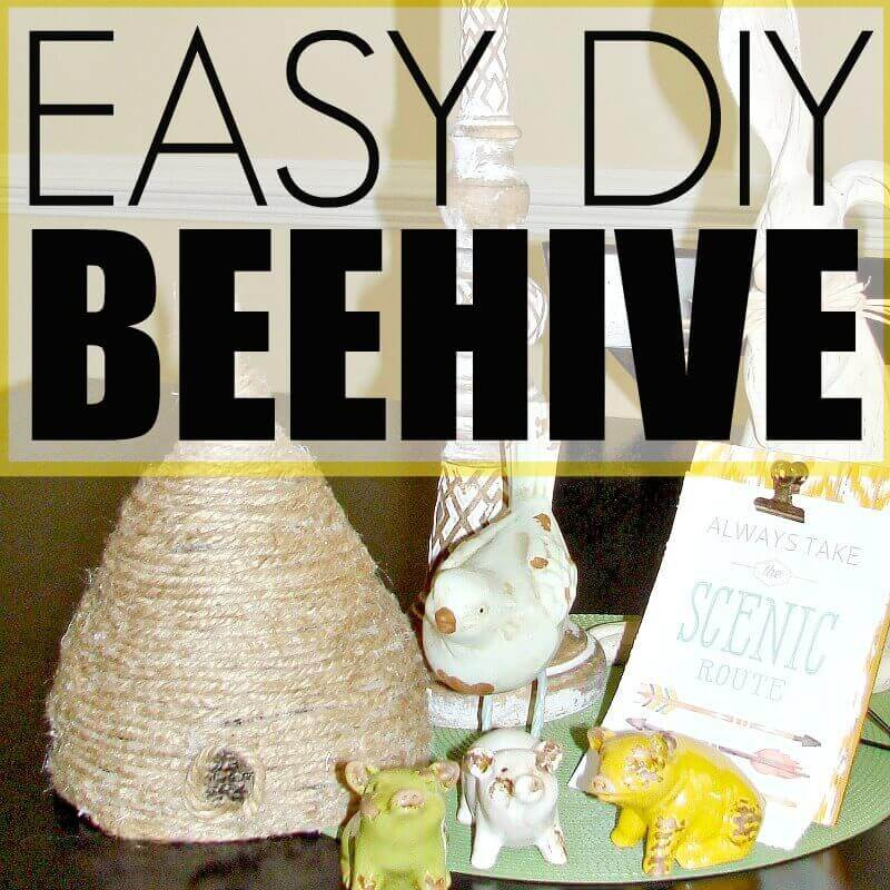 Easy DIY Beehive tutorial