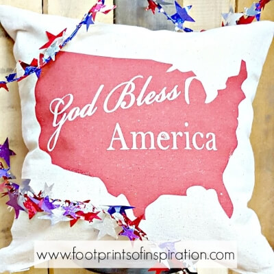 FREE GOD BLESS AMERICA SVG CUT FILE
