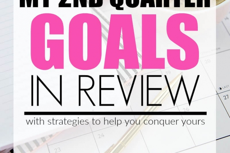 I'm working diligently on meeting my goals this year and this post has some great strategies to help!