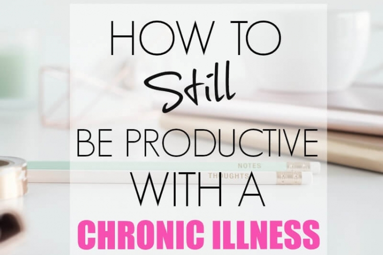 Some days are extremely difficult when you are living with a chronic illness. Check out these great tips on how to still be productive while living with a chronic illness.