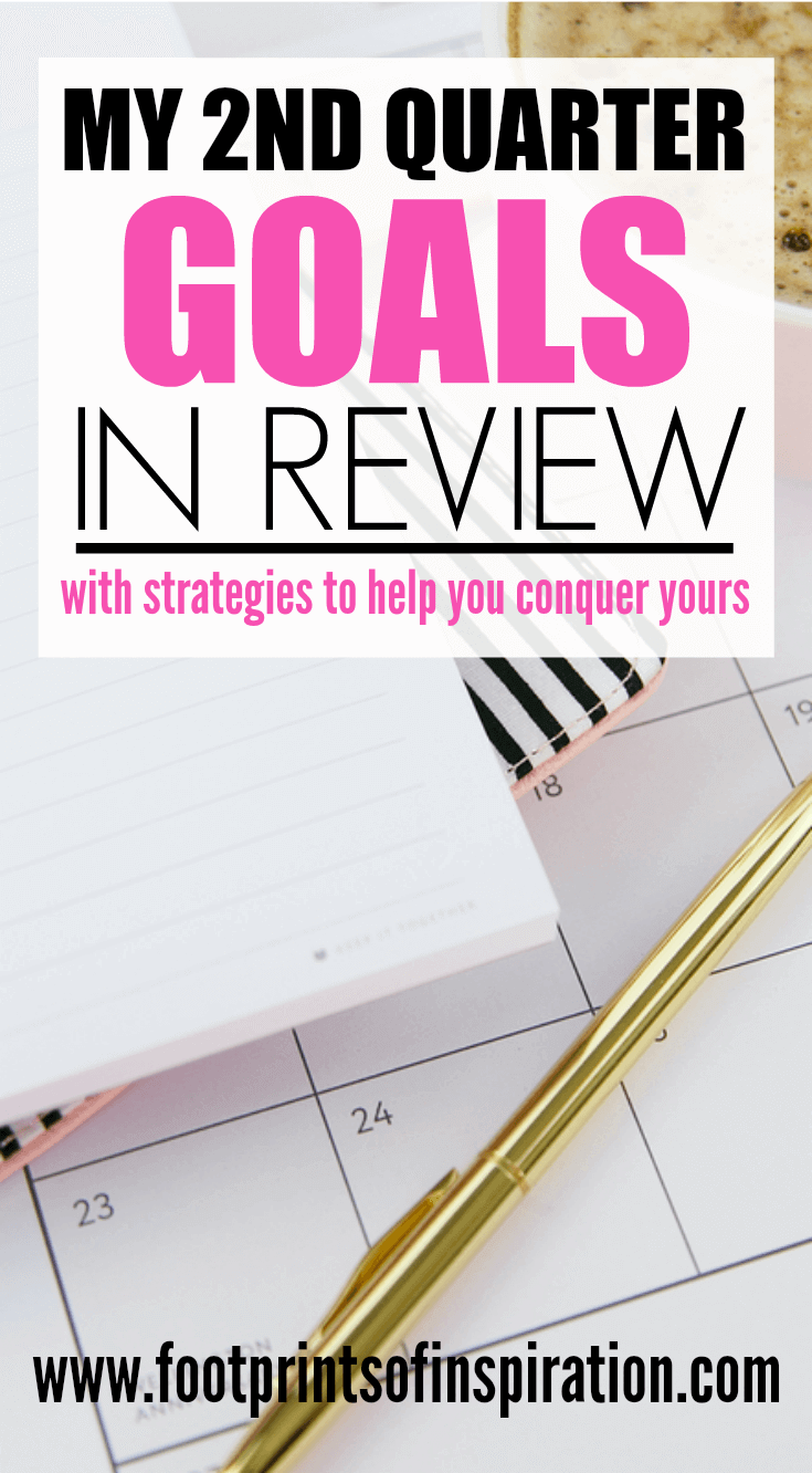 I'm determined to hit my goals this year and this post has some great strategies to help.
