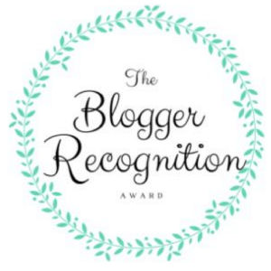 I am completely honored to have been nominated for The Blogger Recognition Award