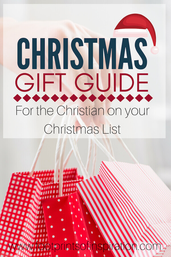 Are you struggling to find the right gift for that special someone on your Christmas List? Click here to find my favorite inspirational gifts that are sure to please everyone on your list. #footprintsofinspiration #christianliving #christianlife #tips #faith #inspiration #christmas #gifts