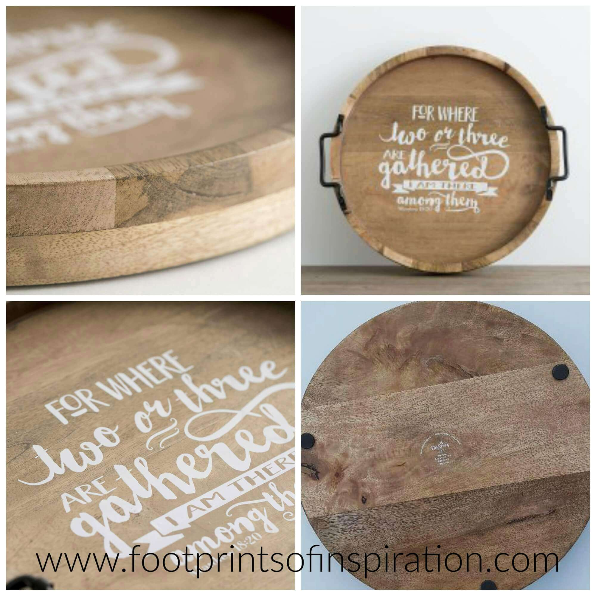 Are you looking for a beautiful, well made, inspirational gift? Check out this gorgeous wooden tray from DaySpring!