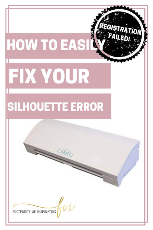 Learn how easy it is to fix your Silhouette Registration Failed Error