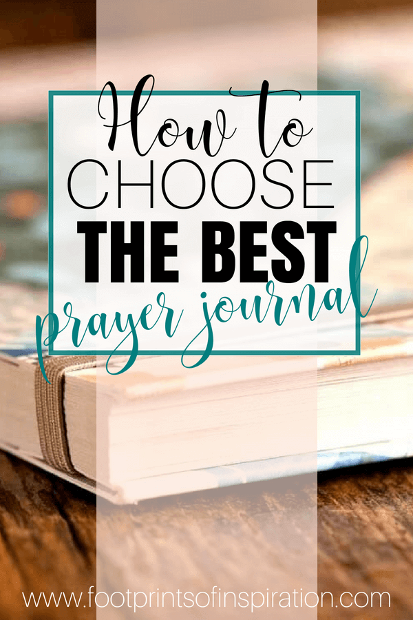 The most important part of a prayer journal is actually using one. There are so many different prayer journals available and this post gives you a guide to help find you find the one that'll best suit your needs.
