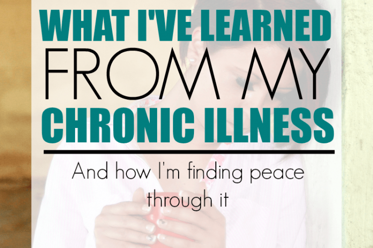 Chronic illness warriors! I love this post about how to cope and find peace through a chronic illness. She suffers from chronic migraines and shares what she's learned.