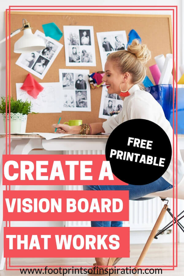 Learn the power of a vision board in your goal setting process and download our free goal crushing action plan