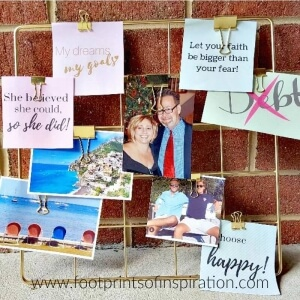 A vision board is one of the most powerful tools to help you stay focused, on task, and help you accomplish your goals. Learn how to create a vision board that actually works for you. And be sure to download your free vision board printables too!