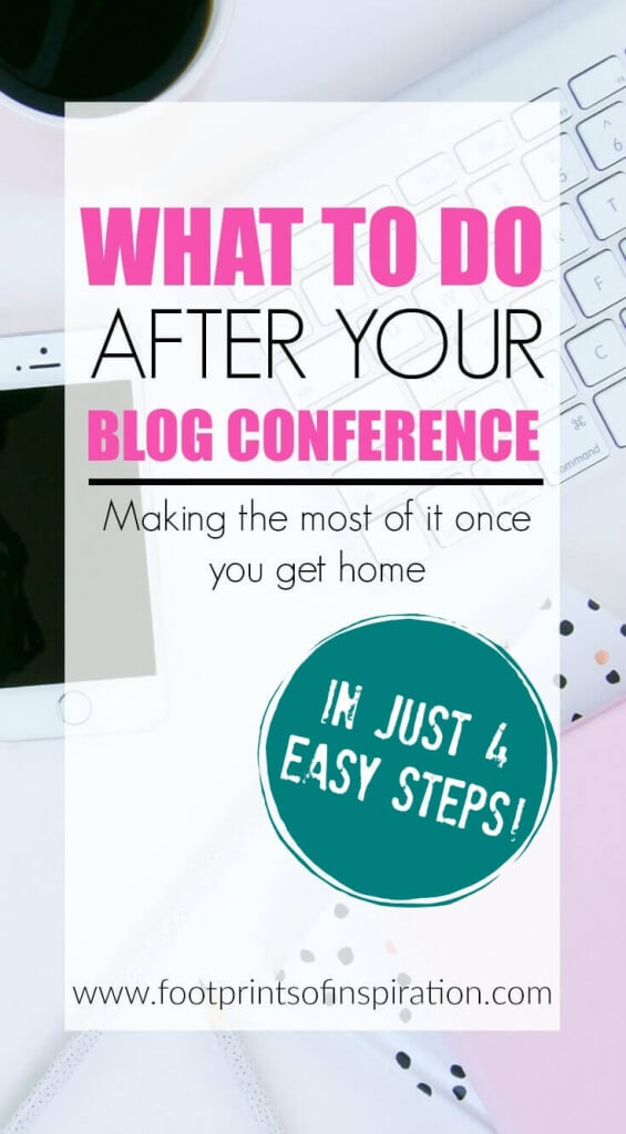 You've spent a lot of time and money on at your blog conference and now it's time to take everything you've learned and implement. Learn what to do after your blog conference and make the most of it once you get home.