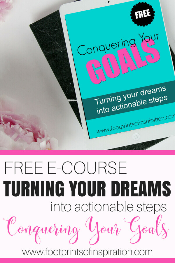 I took this class and am conquering my goals for the first time in my life! You learn how to set goals, live intentionally and manage your time in easy, manageable steps!