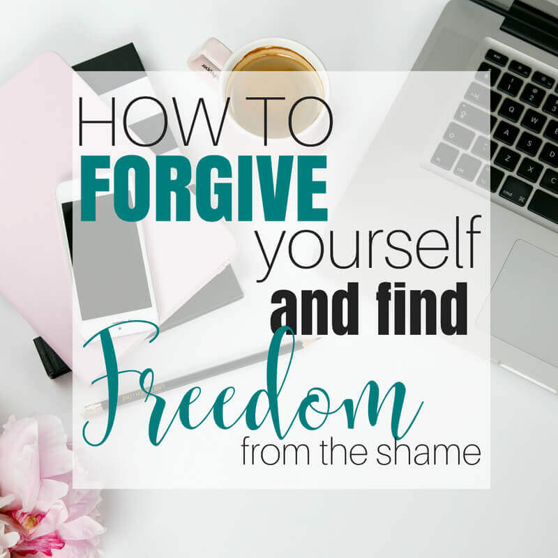 How to Forgive Yourself and Find Freedom from the Worry