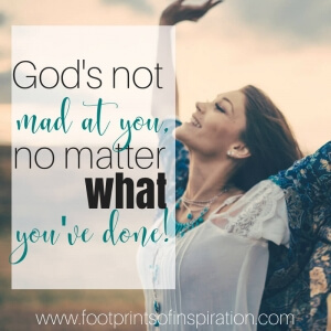 God's not mad at you, no matter what you've done! Do you keep playing your past mistakes over and over in your head? Are you living with the guilt and shame of what you've done?  You're certainly not alone. Find out how to start the journey of forgiving yourself and start living in the Freedom that Jesus has given you.