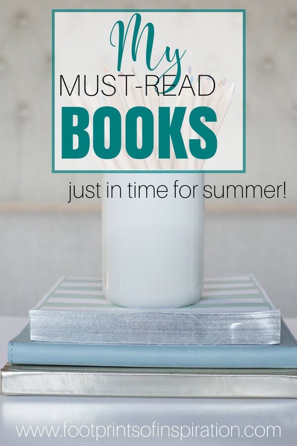 Check out these great must-read books just in time for your summer reading.