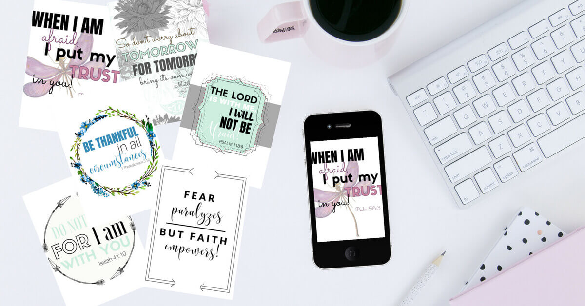 I love these adorable war room printables that come with the 30 Day Devotional, Finding Peace in the Mess!