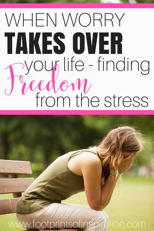 Do you spend a lot of your day worrying over things you can't control? Click here to learn how to take steps to find freedom from the constant stress in your life.