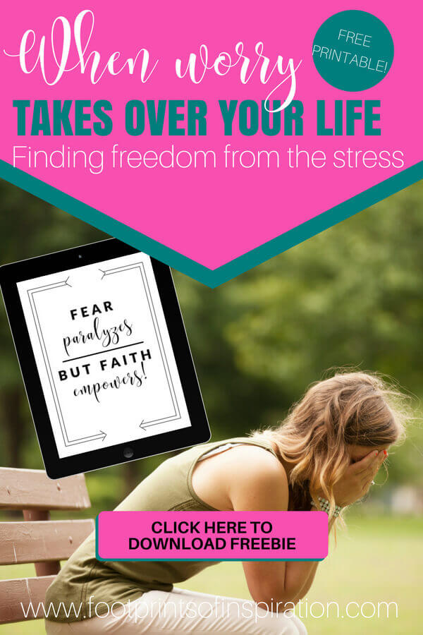 Do you find yourself worrying about every thing that goes on in a day? Constantly stressed over things your truly can't even control? Click here for steps to take to stop living with the chains of worry and begin living in freedom of the constant worry.