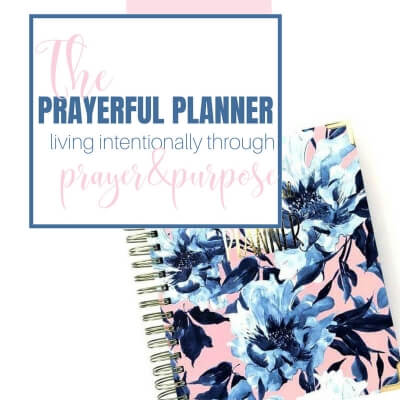 THE PRAYERFUL PLANNER