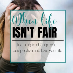 Life is hard. We have so many things thrown at us each and every day, and yet, it seems that others have it so easy and get everything they wanted. Learn how to change your perspective and start loving the life God created you for.