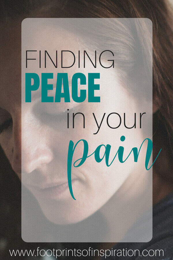 Are you struggling with the trials and challenges in your life? Learn how you can have both pain and peace all at the same time. #peace #pain #peaceinthestorm #faith #god #truth